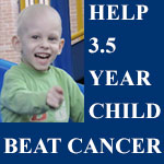 Help 3.5 yr cancer child